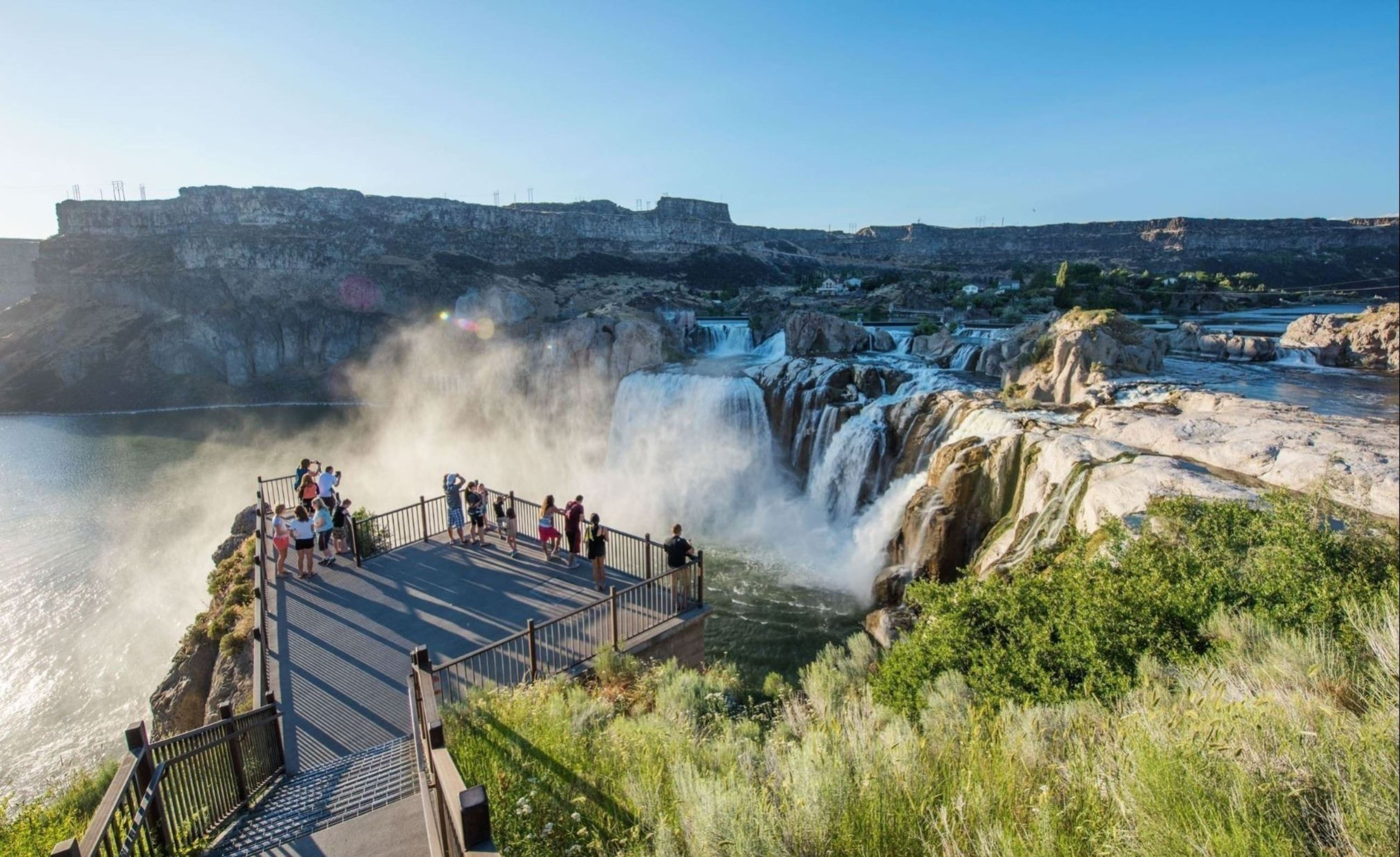 Shoshone Falls from Viewpoint